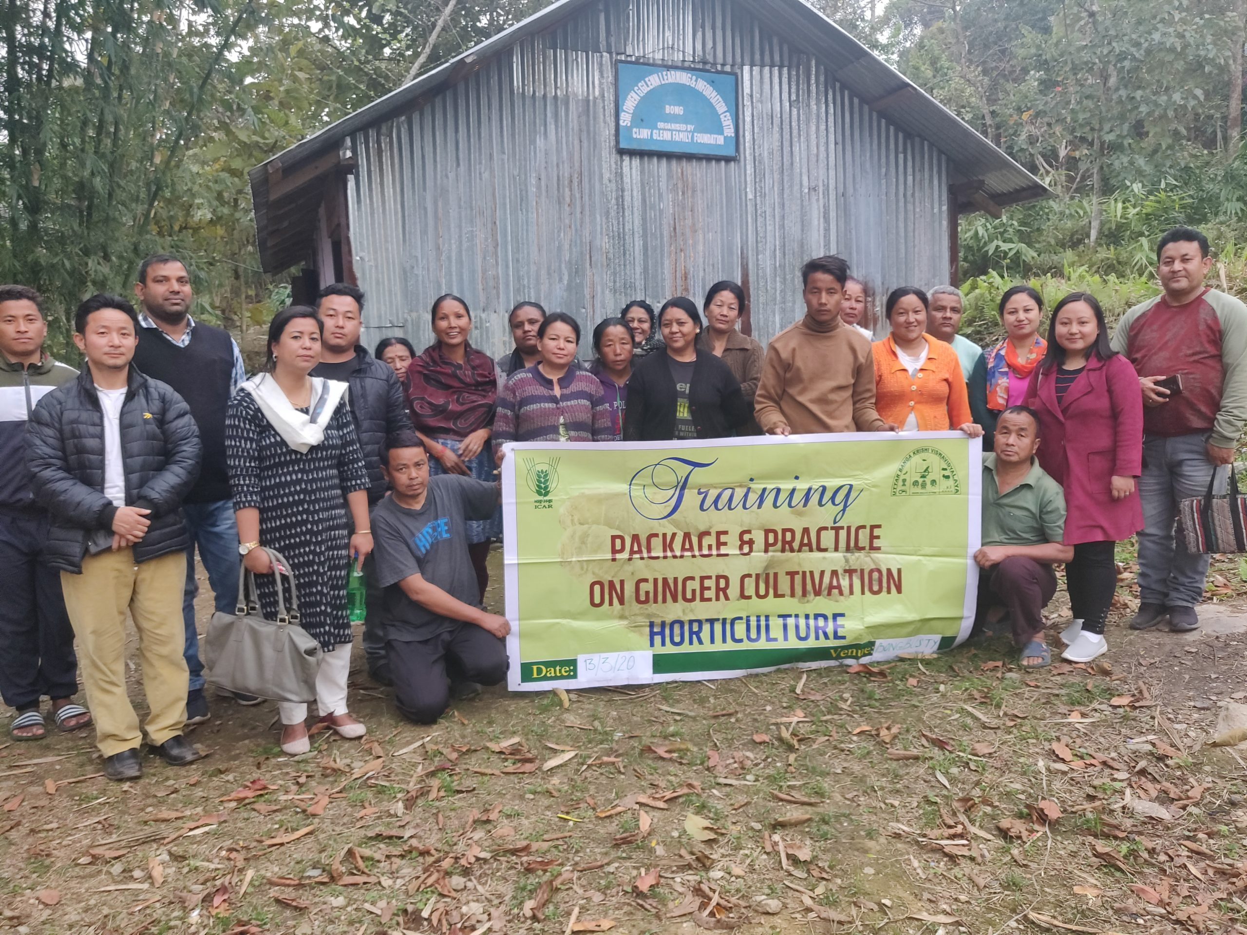 Ginger Cultivation Training – India