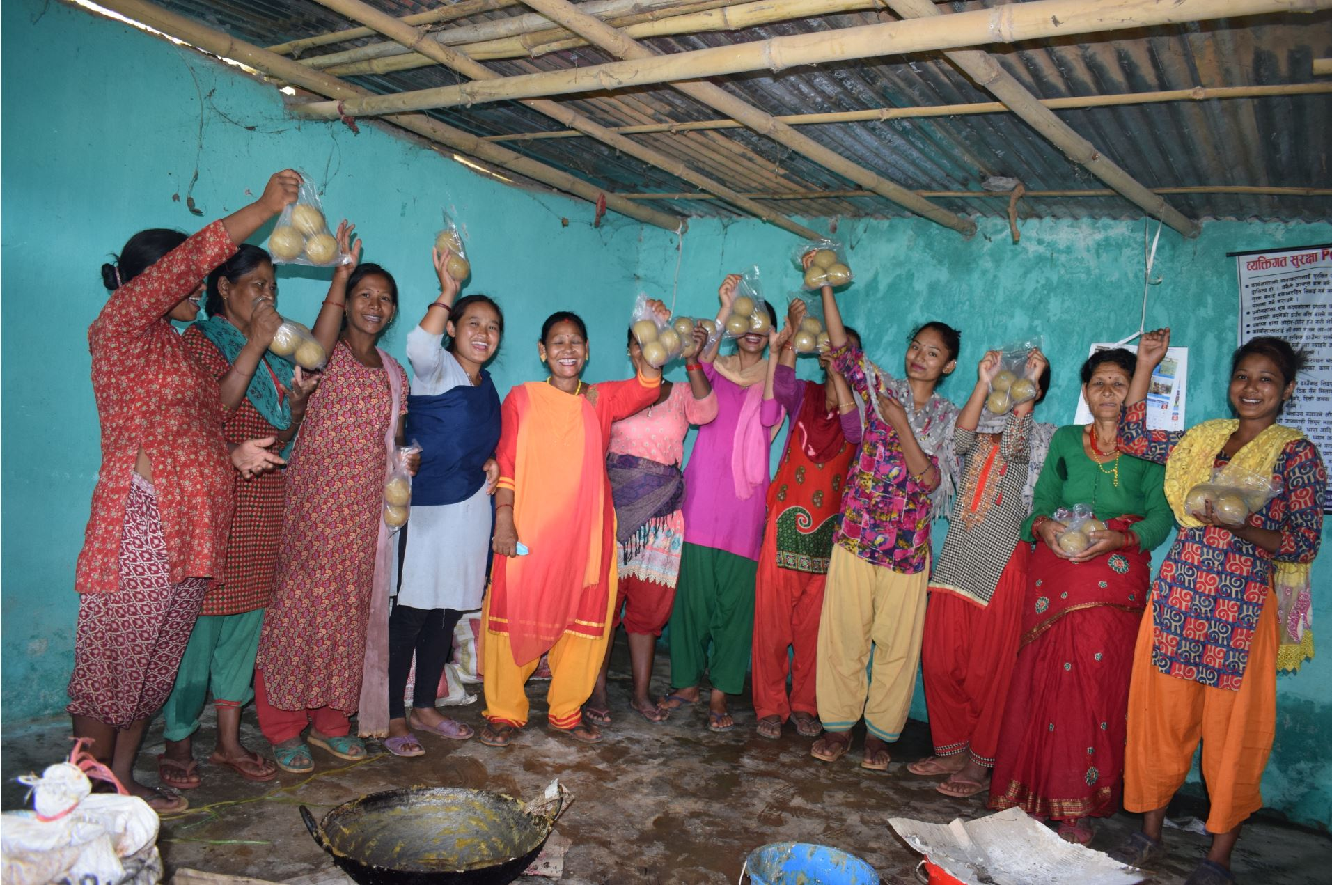 Soap Making project In Kavre: When women connect, women become stronger – Nepal