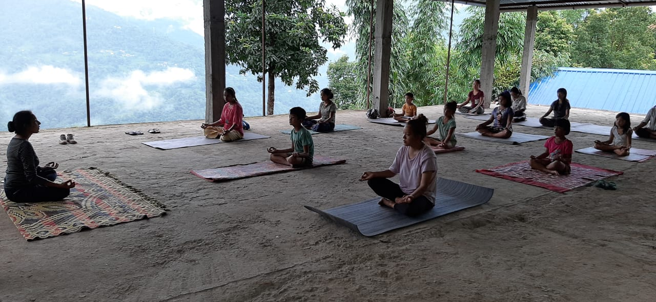 Yoga and Evening Walks for Boosting Immunity in India